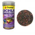 Ração Para Peixe Cichlid Omnivore Small Pellet 90g Tropical