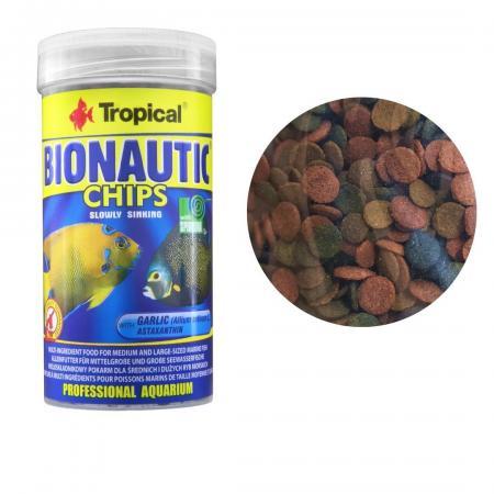 Tropical Bionautic Chips Pote 130g - Ração Marinho, Reef