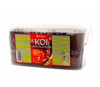 RAÇÃO PARA PEIXE KOI GROWTH & COLOUR SMALL PELLET 1.2KG TROPICAL
