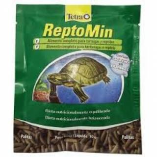 Ração Tetra Reptomin Sticks 10g Sachê Répteis Tartarugas