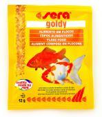 Ração Sera Goldy 12g Sachê - Comida Especial Peixe Kinguio