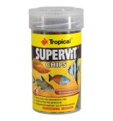 Tropical Supervit Chips 52g - Ideal P/ Peixes Onívoros