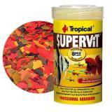 Ração Supervit Flakes 200g Tropical Para Peixes