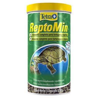 Ração Tetra Reptomin Para Tartarugas E Répteis 220g 1L