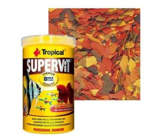 RACAO PARA PEIXE SUPERVIT TROPICAL 100ML 20G