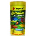 Racao Para Peixe Spirulina Flakes Tropical 50g 250ml