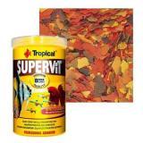 Racao Para Peixe Supervit Flakes 100g 500ml Tropical