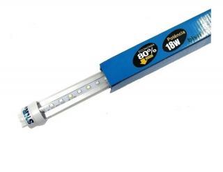Lampada Para Aquário Led T8 Azul/Branca 120cm 18w Bivolt Skrw