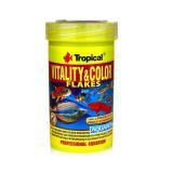 Ração P/ Peixe Vitality&color Tropical 20g 100ml