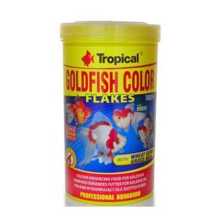 Ração Goldfish Color Flakes 100g 500ml Tropical