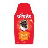 Shampoo Pelos Curtos 2 em 1 Beeps 500ml Pet Society