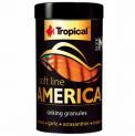 Ração Para Peixe Soft Line America Size M 60g Tropical