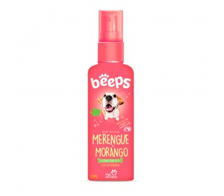 Beeps Body Splash Merengue De Morango 120ml - Pet Society