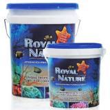 Sal marinho Royal Nature Reef Salt 23kg faz até 690l de água