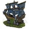 Enfeite para Aquário Caravela Pirata Pequena Fragata
