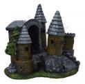Enfeite para Aquário Castelo Medieval Grande Fragata