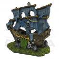 Enfeite para Aquário Caravela Pirata Fragata