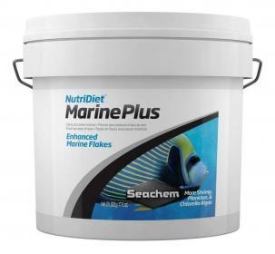 Ração p/ Peixes Marinhos Nutridiet Marine Plus Flakes Probiotics 500g Seachem