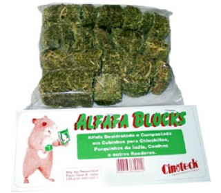 Alfafa Blocks 250g Cinoteck