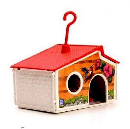 Casa P/hams/beija Plast.mr Pet      1309