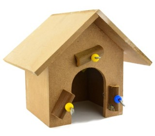 Brinq.casinha Toy For Bird  4003