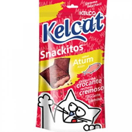 Petisco para Gato Kelcat Snackitos Atum 40g Kelco
