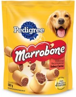 Pedigree Marrobone Biscoito Recheado Caes 500g