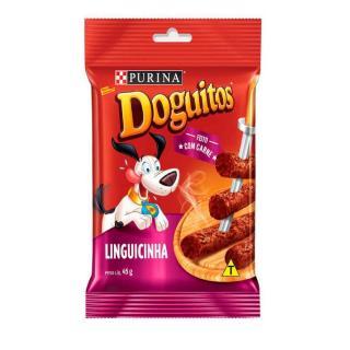 Petisco Para Cães Linguicinha Sabor 45g Doguitos