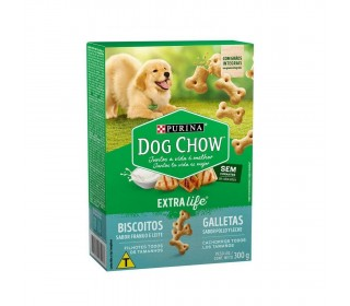 Biscoitos Dog Chow Biscuits Filhotes 300 g