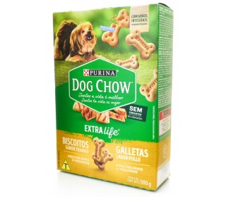 Biscoitos Dog Chow Biscuits Mini 500 g