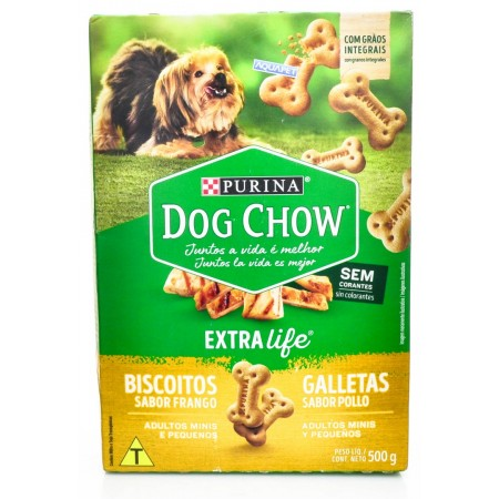 Biscoitos Dog Chow Biscuits Mini 500g