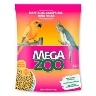 Megazoo Raçao Calopsita E Ring Necks 350g