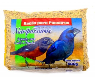 MISTURA CURIO/AZULAO 500G NUTRIPASSAROS