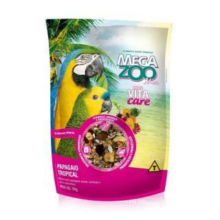 Megazoo Zoo Mix  Papagaio Tropical 700g