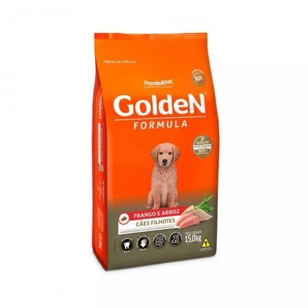 Ração Para Cachorro Filhote Frango E Arroz 15kg Golden