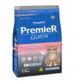 Ração Para Gato Premier Gato Filhote Pelo Longo 1,5kg