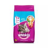 Ração Whiskas Gatos Adultos Peixe 1kg