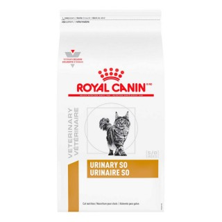 Ração Royal Canin Feline Veterinary Diet Urinary S/o - 1,5kg