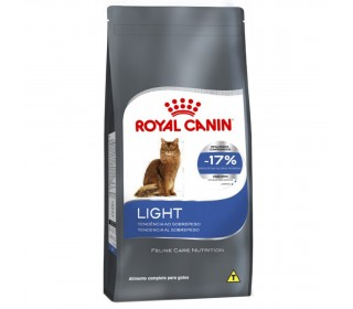RAÇÃO PARA GATO LIGHT 40 ADULT 400G ROYAL CANIN