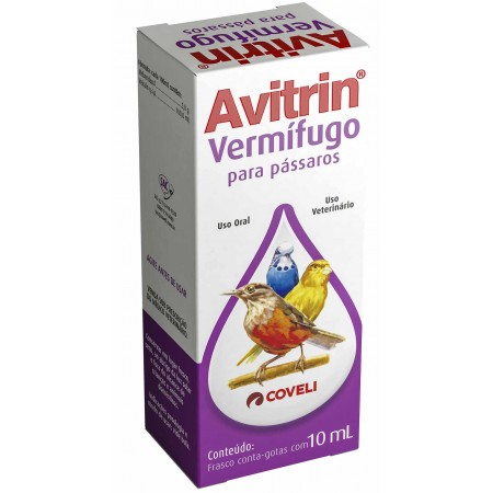 AVITRIN VERMIFUGO 10 ML COVELI