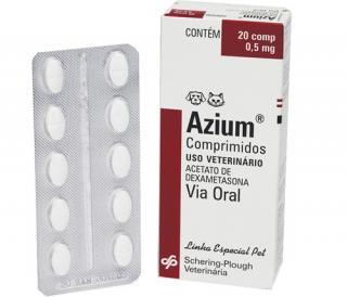 Azium Comprimido 20 cp 0,5mg