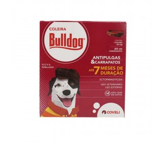 Coleira Anti-pulgas Bulldog 25g Coveli