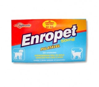 Enropet 50mg 10 Comp Ceva
