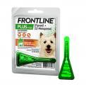 Antipulgas e Carrapatos Frontline Plus p/ Cães de 1 a 10kg - Merial