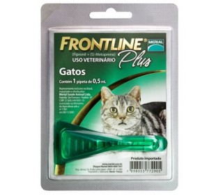Antipulgas e Carrapatos Frontline Plus p/ Gatos - Merial