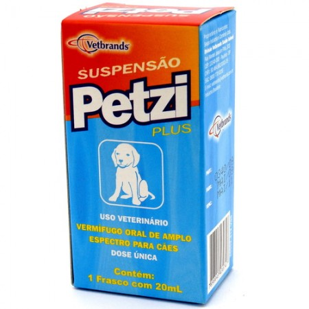 Petzi Plus Suspenção 20ml Ceva