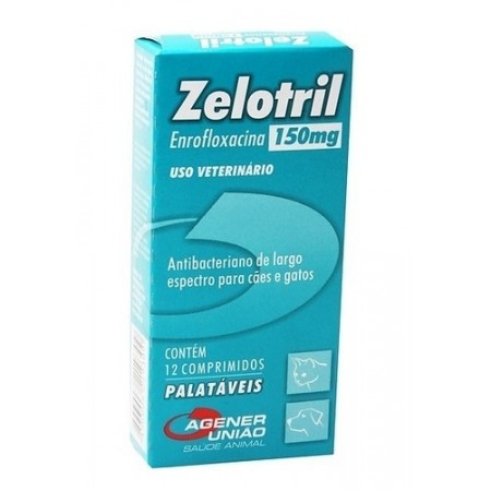 Zelotril Palatavel 150mg 12cp Agener