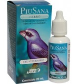PIU SANA FERRO 20ML MUNDO ANIMAL