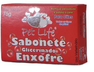 Sabonete Enxofre 75g - Pet Life