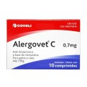 Alergovet C 0,7mg 10comp Coveli